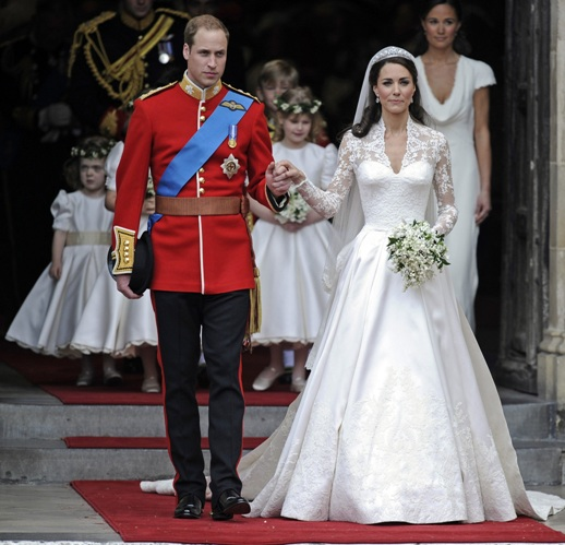 29 aprile - Il Principe William del Galles sposa Kate Middleton